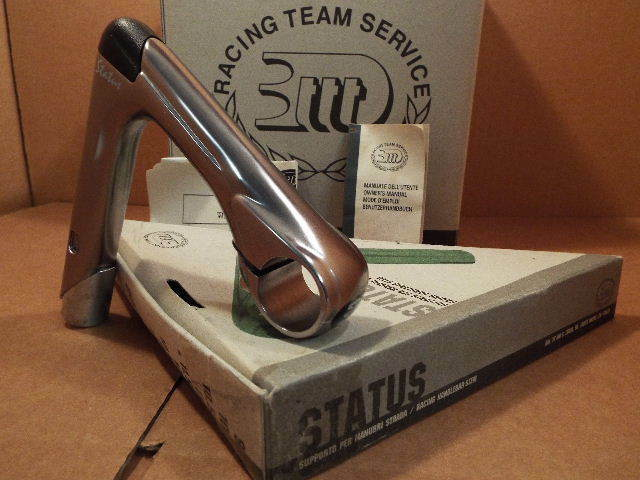 NOS 3T Status Quill Stem w G  Finish (25.8  26.0 mm clamp x 115 mm)...Blemishes  no minimum