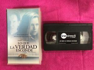 LO-QUE-LA-VERDAD-ESCONDE-VHS-CINTA-TAPE-WHAT-LIES-BENEATH-ROBERT-ZEMECKIS