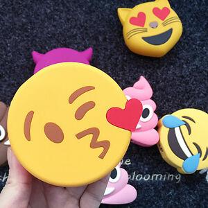 Mah cartoon external battery emoji portable mobile phones