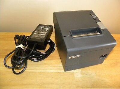 Epson TM-T88IV POS Thermal Receipt Printer M129H with PS-180 Power Supply More