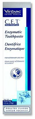 CET Virbac Enzymatic Dog & Cat Toothpaste 2.5 oz (70 g)  Control Plaque & Tartar