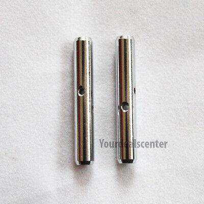 ^ High Quality Violin Chinrest Barrels  4//4-3//4---23mm Nickel