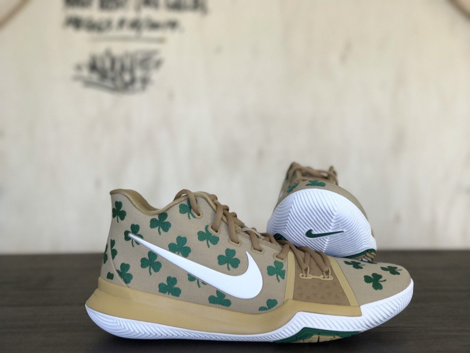 Nike Kyrie 3 Luck Limited TV PE NEW Size 11