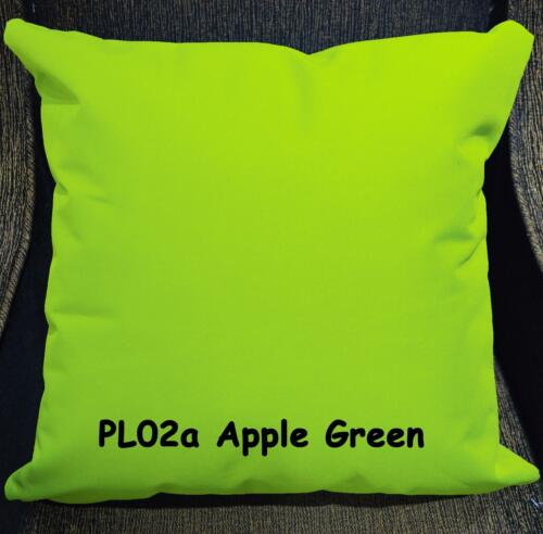 PL Colors Canvas PU Water Proof Outdoor Cushion Cover Pillow Case Custom Size