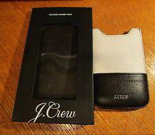 J. Crew Genuine Leather Phone iPhone 5/5c/5s Sleeve Case Universal