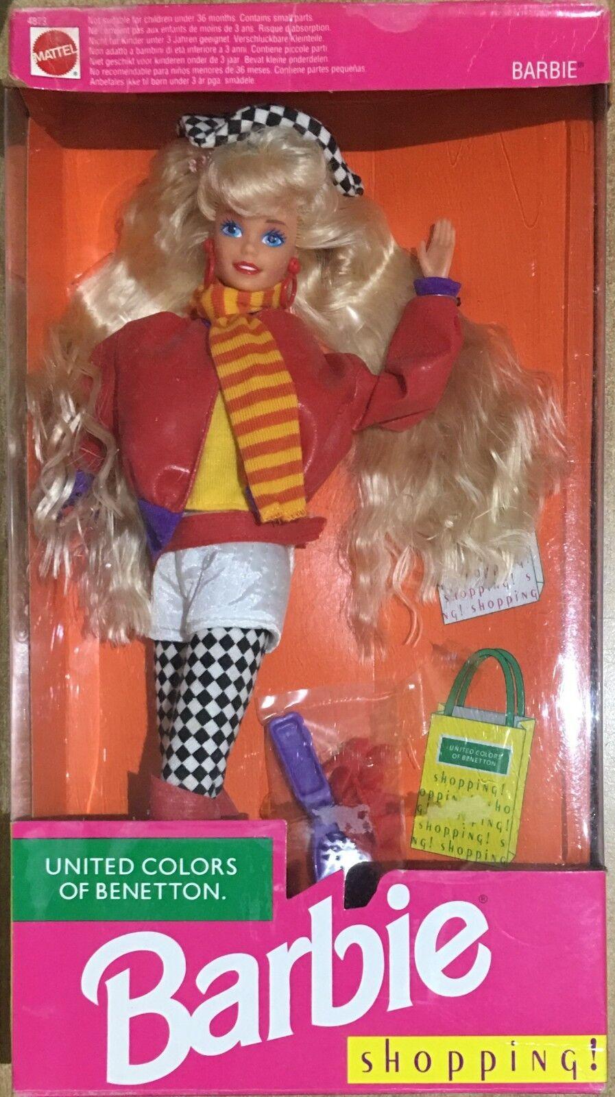Barbie Mattel United United United Coloreeee Of Benetton Vintage 91' 4dc5d2