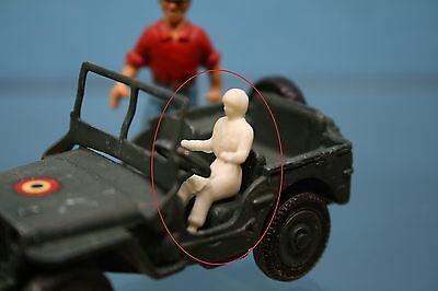 829 816 Chauffeur brut à peindre pour Jeep Dinky Toys 828 DTF457
