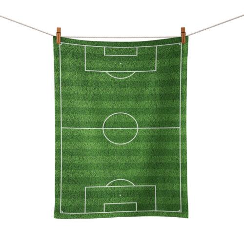 Terrain de football Thé Serviette 50 cm x 34 cm