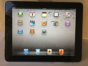 """16GB WiFi Apple iPad 1st Generation A1219 9.7/"""" Black"""