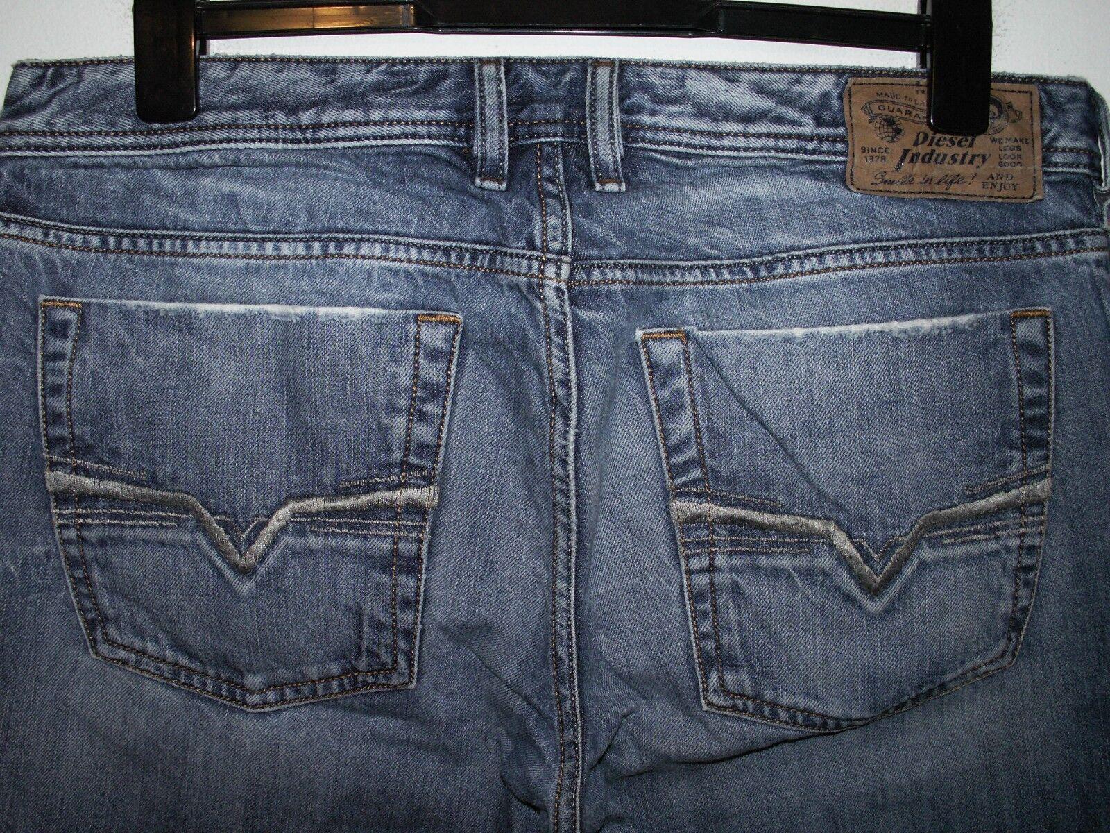 Diesel zathan bootcut jeans wash 008B9 W34 L34 (a904)