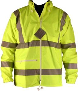 3M-BrandHi-Hi-Vis-Jacket-CE-ISO-9001-High-Visibility-XL-44-46-034-ex-Military-NEW