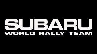 2 Subaru World Rally Team Decal Car Window Sticker Subi Import JDM  2 Pieces