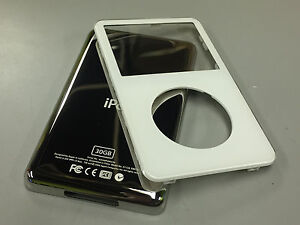 New-White-Front-Faceplate-30GB-Back-Cover-Housing-for-iPod-5th-5-5-Gen-Video