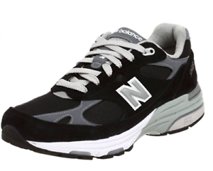 New-Balance-Made-In-USA-WR993BK-Running-Shoes-Black-Silver-Womens-SZ-7B