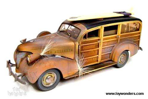 Motor City Classics  86005-2018 Chevy Woody Vehículo Surf Erosionado