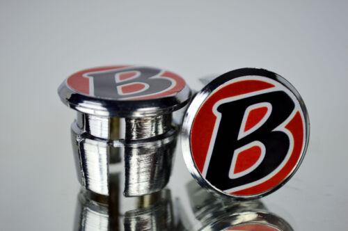 new Bontrager Trek Handlebar End Plugs Bar Caps vintage guidon bouchons calotte