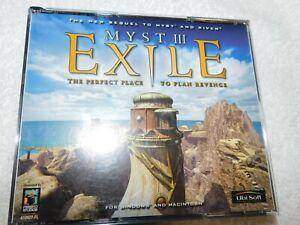 Myst III: Exile - Windows/Mac, 2001