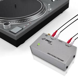PYLE Ultra Compact Phono Preamp for Turntable Record Player  3 options PP-444, PP-555, PP-999 Canada Preview