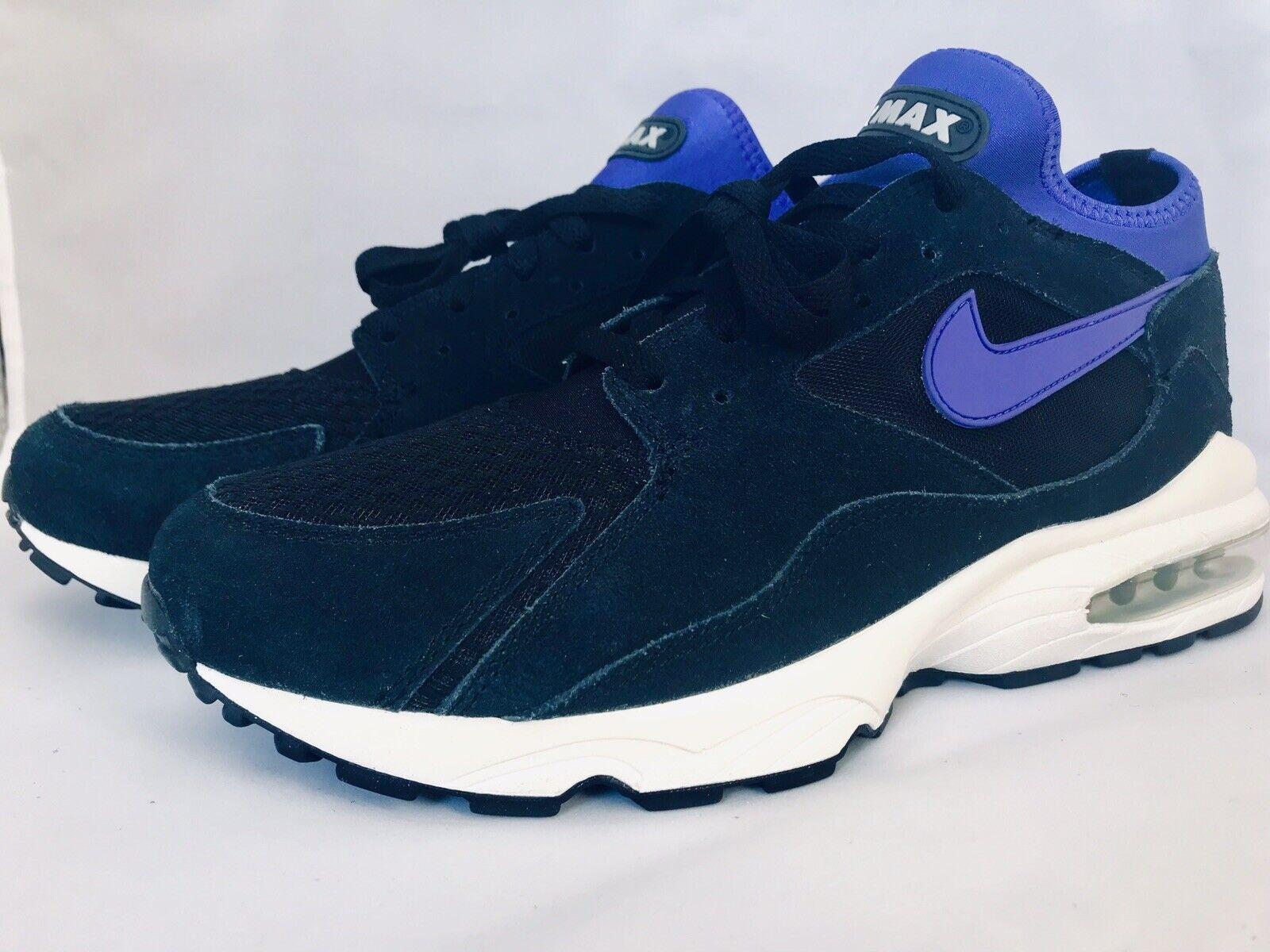 Nike Air Max 93 Men's shoes Size 11 Black Persian purple Purple 306551-015 NEW