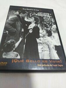 Dvd-QUE-BELLO-ES-VIVIR-CON-JAMES-STEWART-Y-DONA-REED-coleccionistas-f-capra