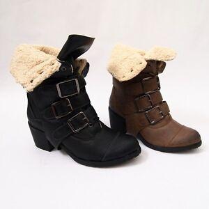 super popolare intera collezione scarpe da corsa Scarpe Donna Stivali Stivaletti Anfibi Imbottiti Fibbie Lacci ...