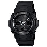 Casio G-Shock AWGM100B-1A Tough Solar Power Atomic Men's Watch Black