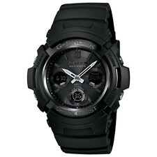 Casio G-Shock AWGM100B-1A Tough Solar Power Atomic Men's Watch Black