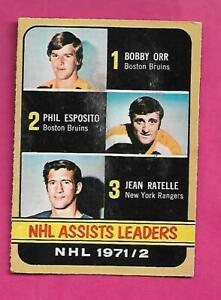 1972-73-OPC-283-ESPOSITO-ORR-RATELLE-LD-HIGH-VG-CARD-INV-C3062