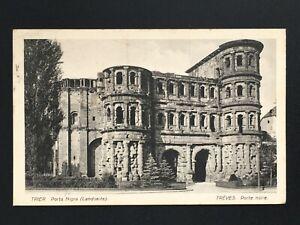 Postcard-Antique-1922-Germany-Trier-Holder-Black