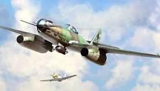 HobbyBoss Messerschmitt Me 262 A-2a/U2 mit Glaskanzel 1:48 ModellBausatz kit new