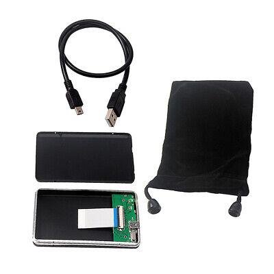 "Premium HDD Enclosure Case USB 2.0 to 1.8/"" CE ZIF Hard Drive External Case"
