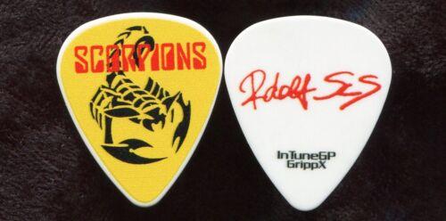 SCORPIONS 2016 50th Anniv Tour Guitar Pick!! RUDOLF SCHENKER custom stage #1