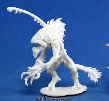 1x GUERRIER TIIK - BONES REAPER figurine miniature d&d rpg fishman warrior 77186