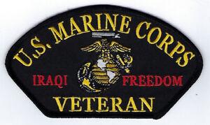IRAQI-FREEDOM-US-MARINE-CORPS-VETERAN-US-MARINE-HAT-PATCH-BIKER-VEST-PIN-UP-OIF