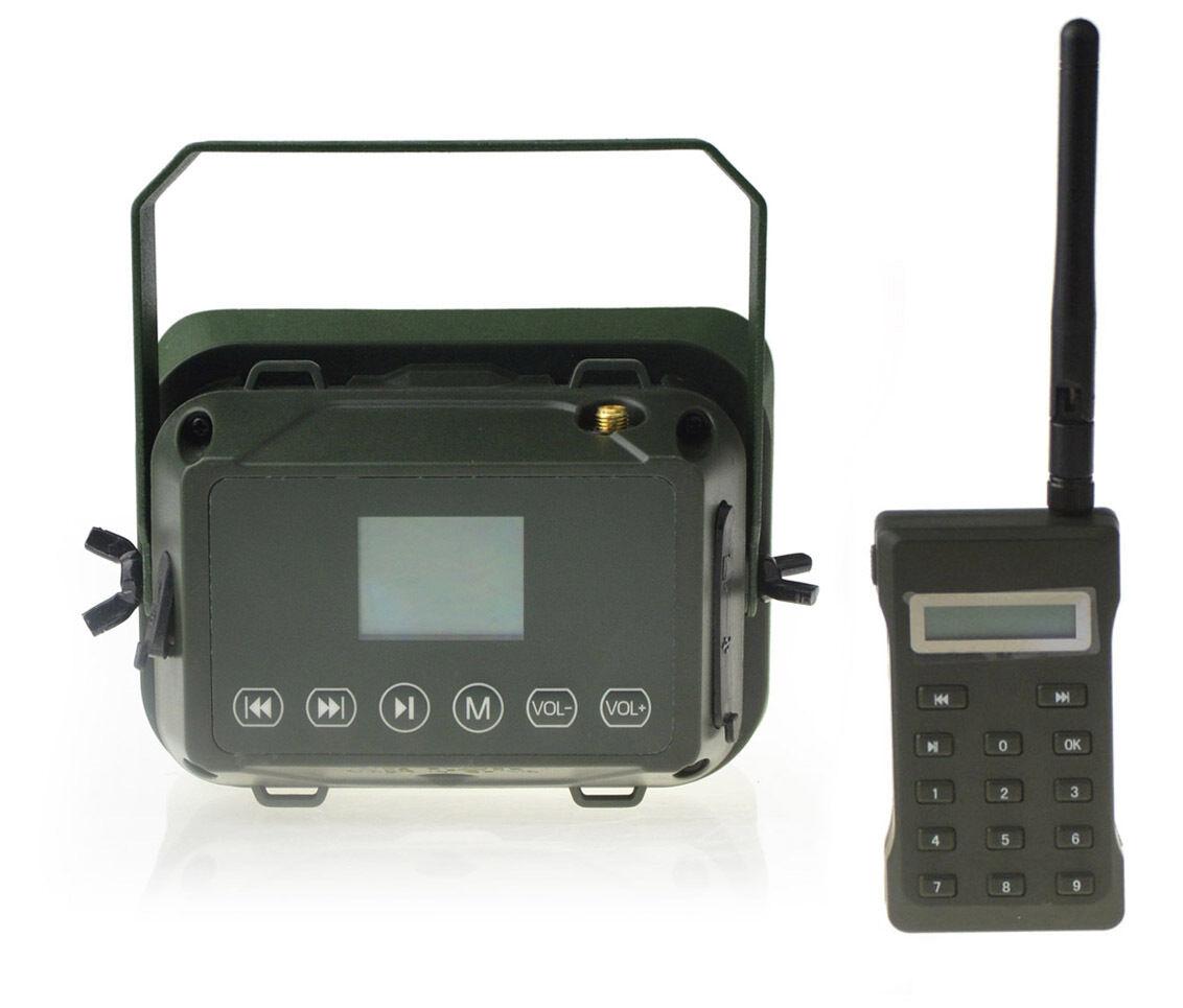 Hunting MP3 Jugarer Bird Caller 60W 160dB Loud Speaker W  Remote Control 500M