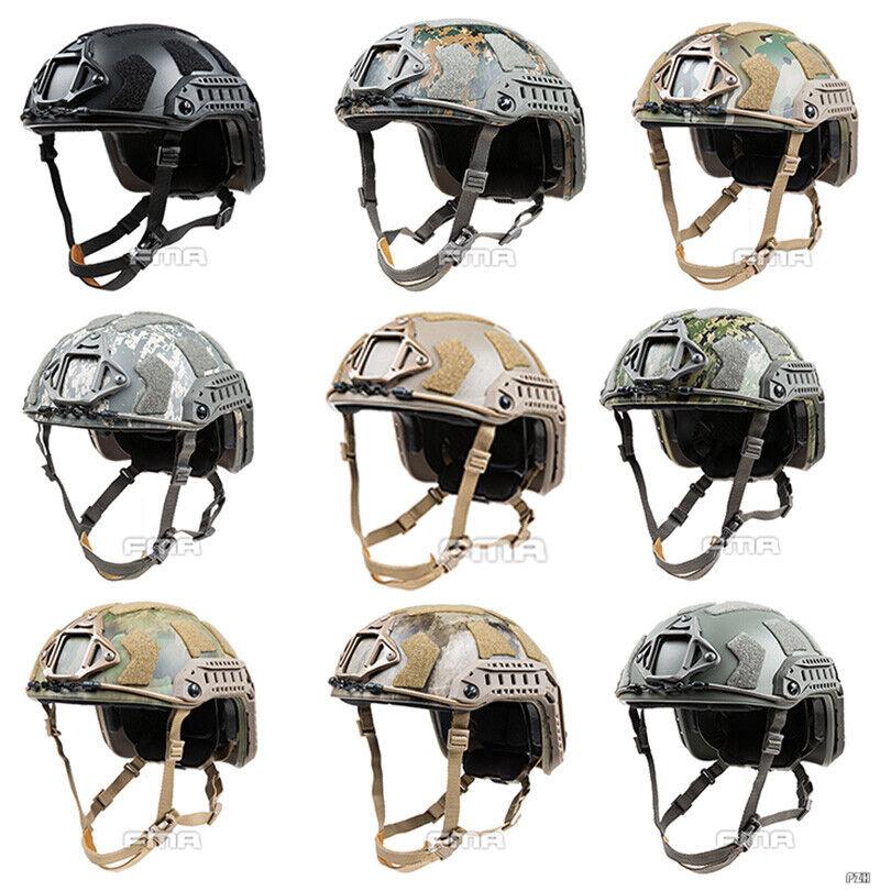 FMA Tactical Airsoft SF Super High Cut Helmet  Predective Safety Helmet M L