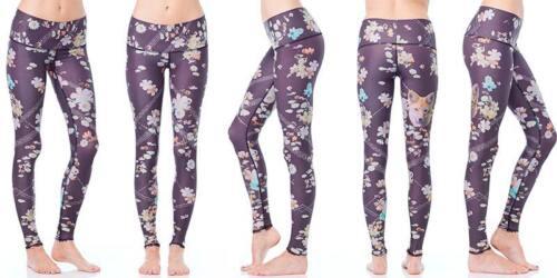 Volpe Taglia Teeki Yoga Wildflower Donna Pantaloni Da Pilates Large xwrqrvXf