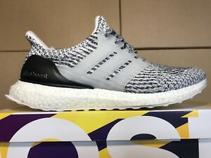 Details about Adidas Ultra Boost 3.0 Oreo Zebra Black White Ultraboost S80636 Men's size 9