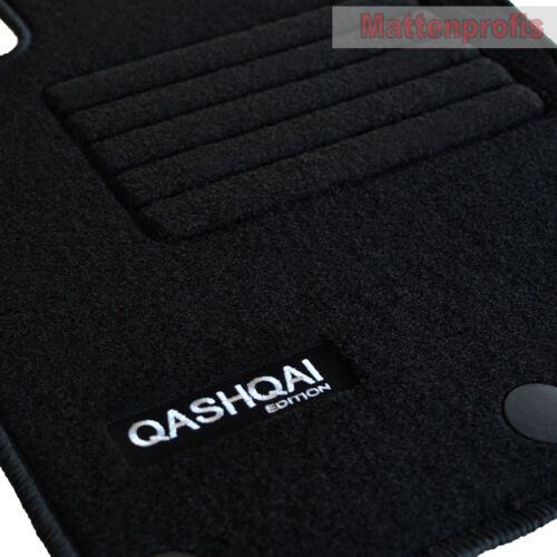Velours Fußmatten Edition Set 6-teilig für Nissan Qashqai II J11 ab Bj.02//2014