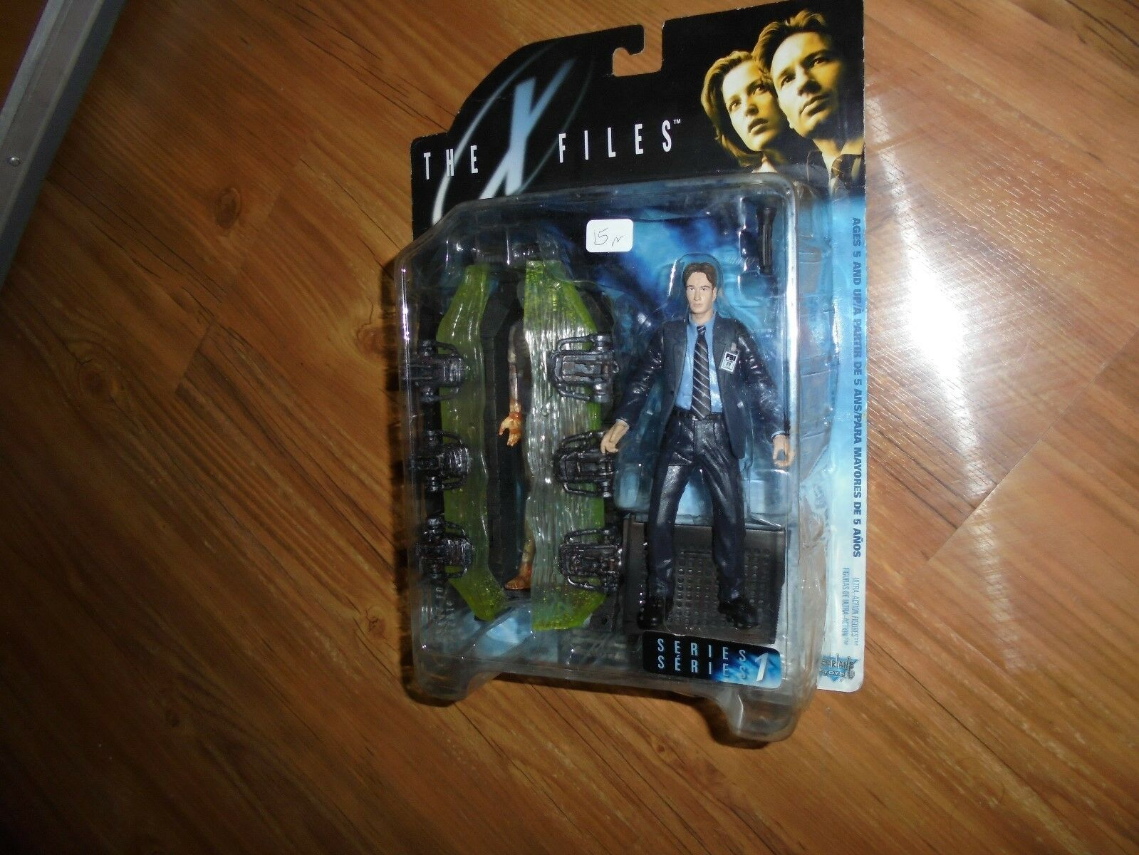 The X-FILES  AGENT FOX MULDER Series1 UltraActionFigure(with suit) McFarlane1998