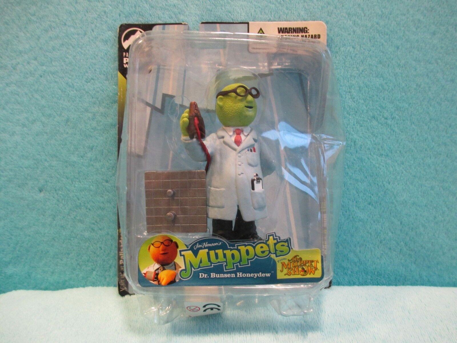 Palisades Juguetes el Muppets Show-Mini Dr Bunsen Honeydew Estatuilla Figura MOC