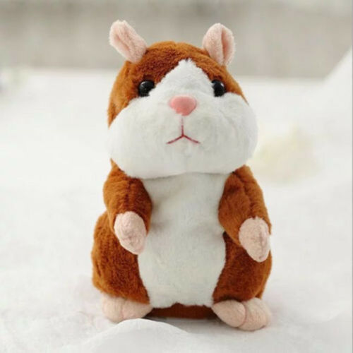 UK Talking Cheeky Hamster Christmas Baby Kids Gift Soft Toys Fast Shipping