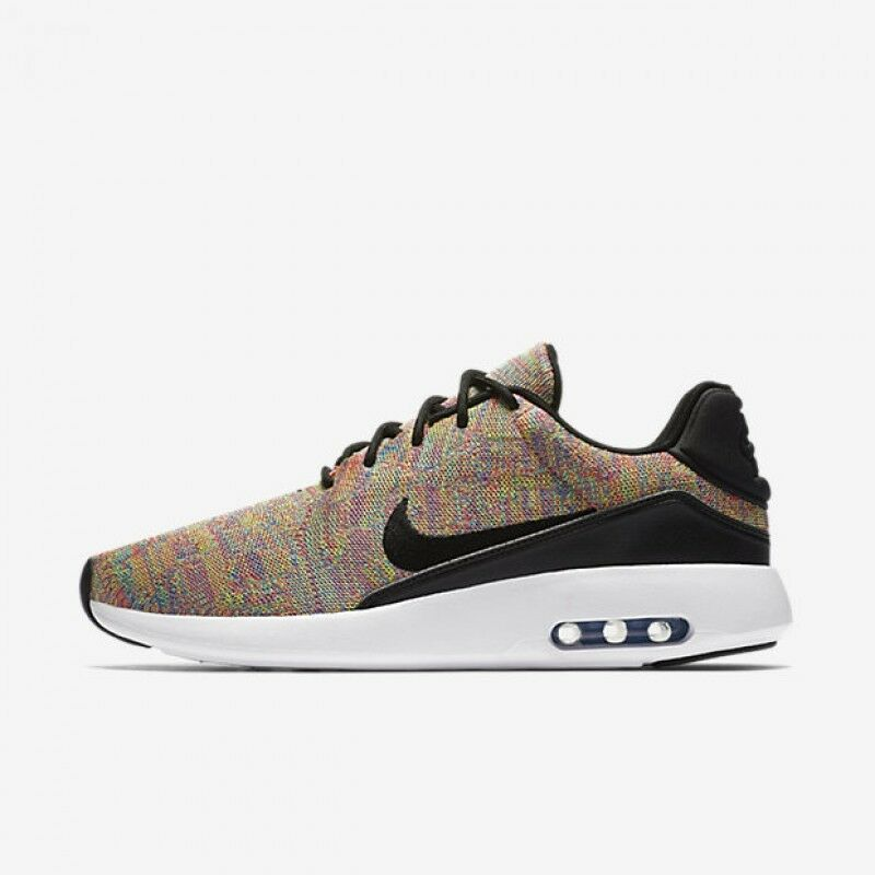 Nike Air Max Modern Flyknit Men's Running Shoes Photo Blue/Black/Pink 876066 403 Photo Blue/Black/Racer Pink