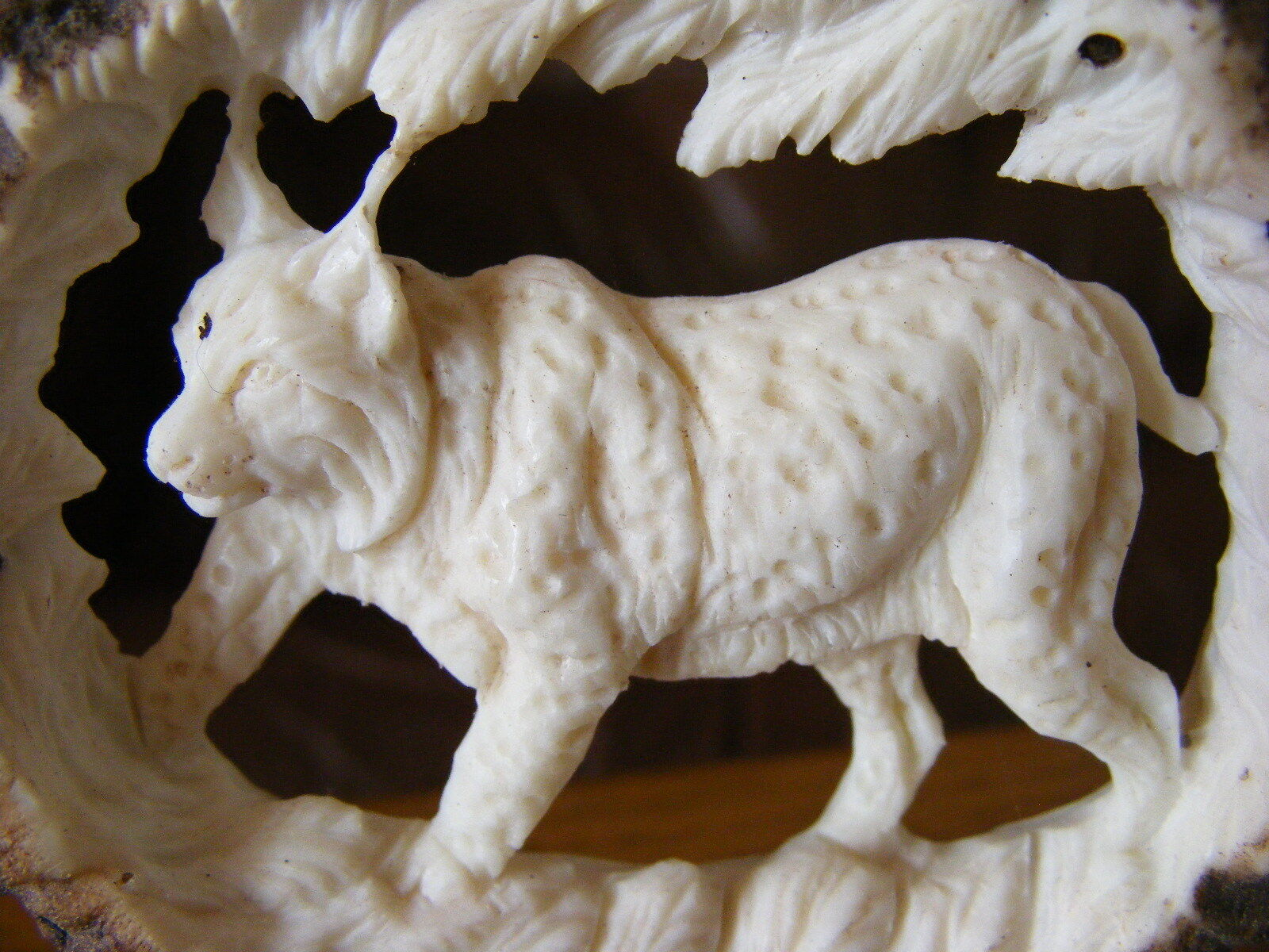 HAND CARVED CARVED CARVED ANTLERS, LYNX , decor taxidermy skull hunting d1bfcf