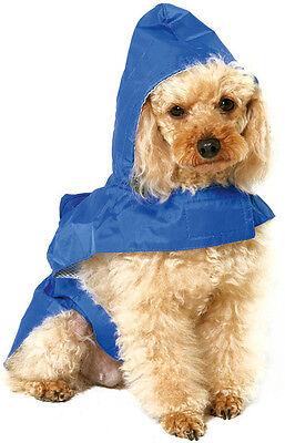 Dog wind/waterproof RAIN coat clothes jacket Small Medium Extra Large Giant dog