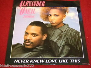 VINYL-7-034-SINGLE-ALEXANDER-O-039-NEAL-NEVER-KNEW-LOVE-LIKE-THIS-651382-7