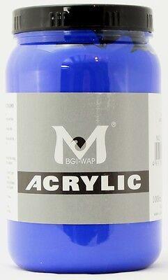 500 ml Magi Künstler Acrylfarbe ultramarin 443
