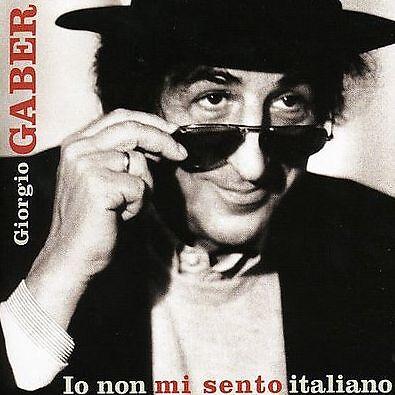CD GIORGIO GABER IO NON MI SENTO ITALIANO