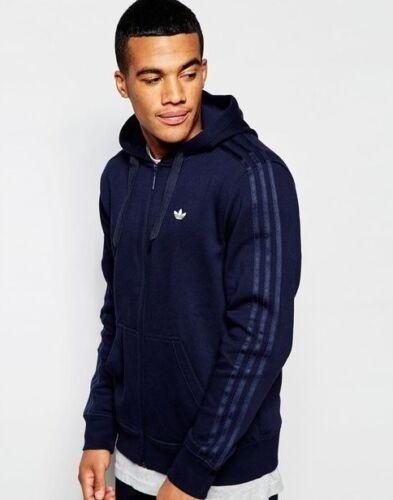 Men/'s New Adidas Originals Zip Hoodie Hoody Hooded Sweatshirt Jumper Jacket Top