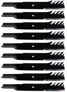 "9 USA Mower Blades® for Wright Mfg 71440003 Encore 823006 61/"" Deck"